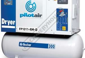 FP1011-RM-D Rotary Screw Air Compressor Includes Integrated Air Dryer 1428L/Min. 50.4CFM