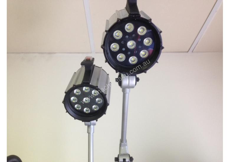 LED WORKLIGHT - Fixed Base with Flexible Arm
