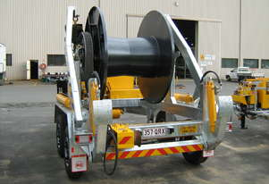 SPLIT DRUM - LARGE CENTRE CABLE DRUM - 1800MM DIAMETER