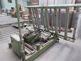 Roller Conveyor Material Sheet Handling Tilt Tip - picture0' - Click to enlarge