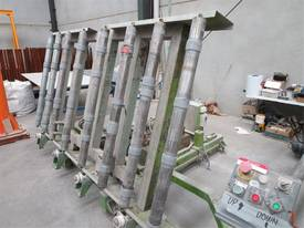 Roller Conveyor Material Sheet Handling Tilt Tip - picture1' - Click to enlarge