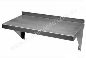 NEW COMMERCIAL 1200X300 STAINLESS STEEL SOLID WALL