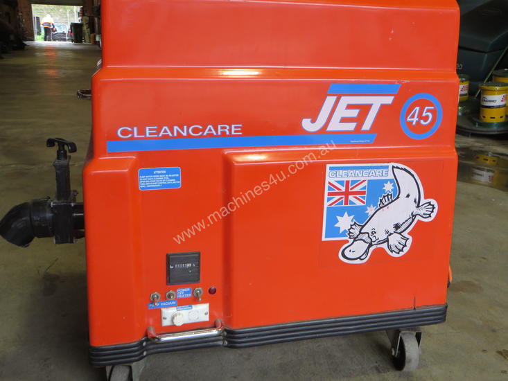 Cleancare Jet 45 Carpet Extractor 200 hours