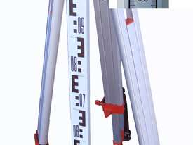 Automatic Laser Level Inc. Tripod Staff - picture1' - Click to enlarge