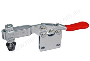 Horizontal Handle Straight Base Toggle Clamp