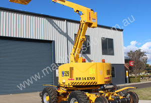 2011 Platform Basket RR14 Rail Mounted Boom Lift
