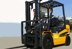 New 2.5T LPG Container Forklift