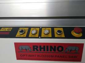 RHINO OPTIMAT PANEL SAW MODEL RJ3200M *GREAT STARTER MACHINE* - picture4' - Click to enlarge