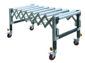 Roller Support Stand Conveyor - picture0' - Click to enlarge