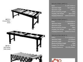 Roller Support Stand Conveyor - picture4' - Click to enlarge