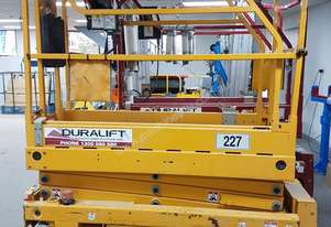 2010 19ft Haulotte Scissor lift FOR SALE
