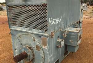 1250 kw 1700 hp 6 pole 6600 v AC Electric Motor