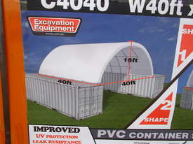 40ft x 40ft x 15ft Container Shelter - picture1' - Click to enlarge