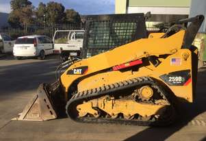 Cat track loader with new tracks