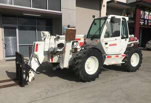Manitou MT1740 with Pallet Forks