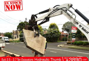 Hydraulic Thumb suit 2.5 to 2.7 Ton Excavators ATTBUCK