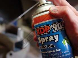 XDP905 Cutting Tool Lubricant Spray - 300g Increases Tool Life Up To 5 Times Low viscosity – ideal - picture3' - Click to enlarge