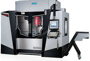 Pinnacle - 5 Axis Machining Center                                           BX300A - BX500A -BX700A