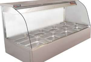 Woodson W.HFC26 Hot Food Bar - Curved Glass 2005mm