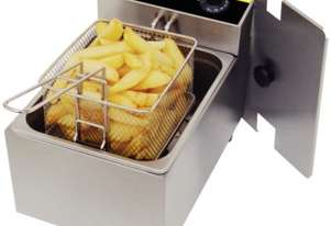 Apuro Single Fryer - 5Ltr 2.8kW Better Basket AUS PLUG