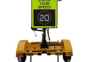 Ldc Equipment RADAR SPEED SIGN