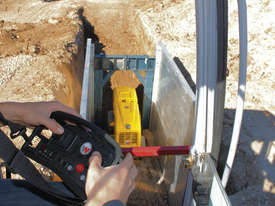 Remote controlled trench roller - picture4' - Click to enlarge