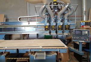 Heian Flatbed nesting CNC Router
