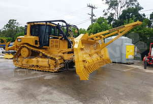 CAT D6T XL Foldable VPAT Stick Rake + Tree Pusher DOZRAKE