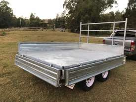 Ozzi 10x7 Flat Top Trailer - picture0' - Click to enlarge