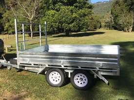 Ozzi 10x7 Flat Top Trailer - picture1' - Click to enlarge