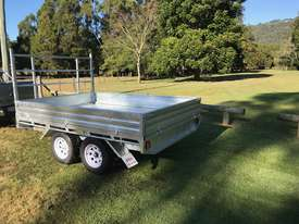 Ozzi 10x7 Flat Top Trailer - picture2' - Click to enlarge