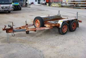 1997 Custom Made Tandem Axle Plant Trailer IN AUCTION
