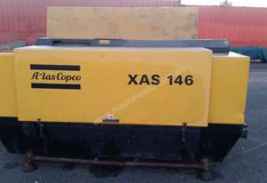 Air Compressor Diesel Atlas Copco XAS146 INDUSTRIAL PORTABLE 300 CFM