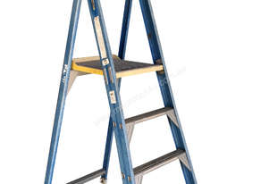 Bailey Fibreglass & Aluminum Step Ladder 2.4 Meter Double Sided Industrial 150kg SWL
