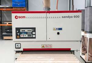 SCM 1350mm Automatic Wide Belt Sander & Dust Extractor