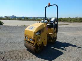 2009 CAT CB14 Double Drum Vibrating Roller - picture0' - Click to enlarge