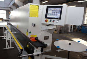 Fully Automated  Hot Melt Edgebander NikMann KZM6RTF-CNC-v61 with spray system