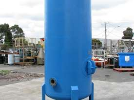 Large Vertical Standing Air Compressor Receiver Tank - 2900L - picture0' - Click to enlarge