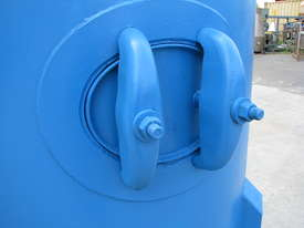 Large Vertical Standing Air Compressor Receiver Tank - 2900L - picture2' - Click to enlarge