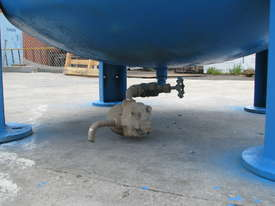 Large Vertical Standing Air Compressor Receiver Tank - 2900L - picture3' - Click to enlarge