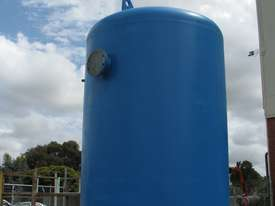 Large Vertical Standing Air Compressor Receiver Tank - 2900L - picture4' - Click to enlarge