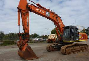 2012 Hitachi ZX350LCH-3 Steel Tracked Enclosed Cabin Excavator (EX21) - In auction