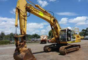 2006 Sumitomo SH330-3 Steel Tracked Excavator (EX28) - In Auction