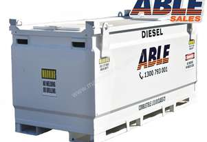 Able Fuel Cube Bunded 10000 Litre (Safe Fill 9500 Litre)