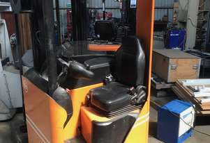 BT RRN1 Rider-Reach 1.3Ton (5.4m lift) 48V Electric Forklift