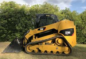 2012 CAT 279C Compact Track Loader, 2 Speed, A/C Cab, Hydraulic Quick Hitch,  Hyd Creep Cntrl