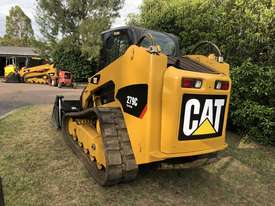 SOLD---2012 CAT 279C Compact Track Loader, 2 Speed, A/C Cab, Hydraulic Quick Hitch,  Hyd Creep Cntrl - picture1' - Click to enlarge