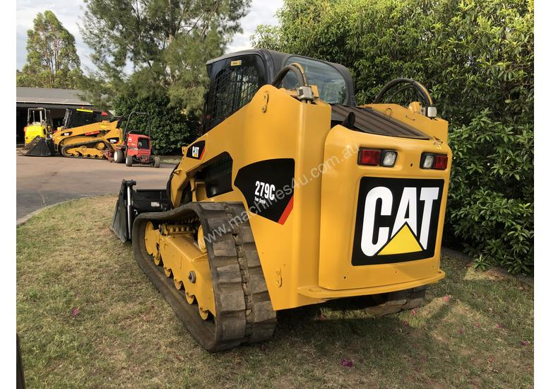 SOLD---2012 CAT 279C Compact Track Loader, 2 Speed, A/C Cab, Hydraulic Quick Hitch,  Hyd Creep Cntrl