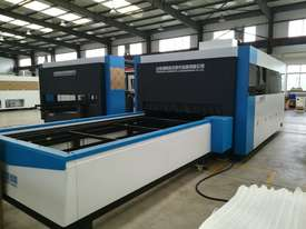 Alpha SF3015H-2000 CNC fiber laser cutting machine with Raycus 2kw  - picture1' - Click to enlarge