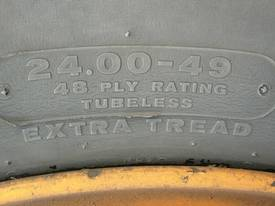 Wheels And Tyres 24.00 + 49 - picture1' - Click to enlarge